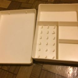 Box for needlework and thread