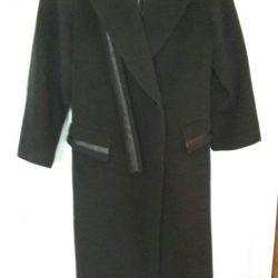 Пальто шерсть,лама