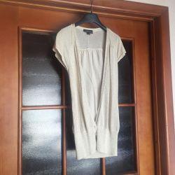 Bej bluză