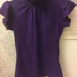 Blouse in two colors