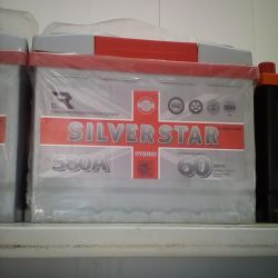 Аккумуляторы SILVERSTAR новые