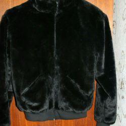 Jachetă de blană