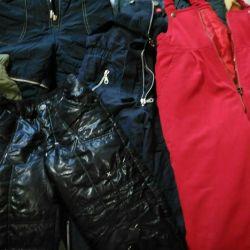 Pantolonlar 3 ila 8 yıl arasında sıcak
