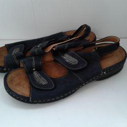 Large orthopedic sandals