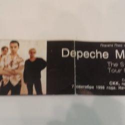 Билет Depeche Mode