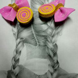 Candy on the hairpins
