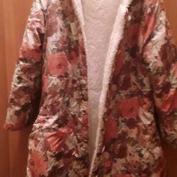 Kızlar için 8-9 yıl palto