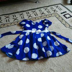1,5-3 yıl için elbise