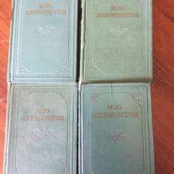 Συλλογή Μ. Γι. Λερμόντοφ σε 4 τόμους 1962
