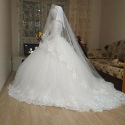 Wedding dress for covered