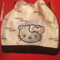 Çocuk şapkası Hello Kitty