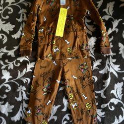 Noi pijamale americane de 4 ani Scooby Doo