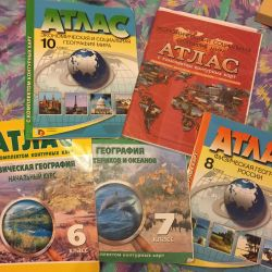 Atlas geographical 6,7,8,10 class