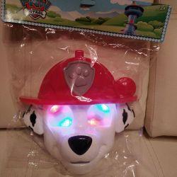Mask Paw Patrol Marshal, light
