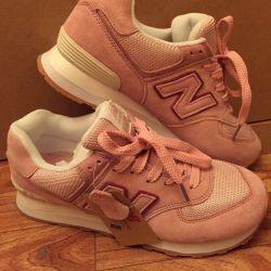Кроссовки New Balance розовые