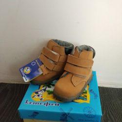 Ботинки  Котофей зимние новые