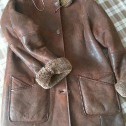 Δερμάτινη παλτό 46-48
