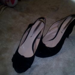 Heeled sandals. Rendy