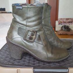 Μπότες από φυσικό δέρμα
