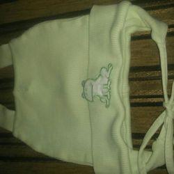 Children's hat from 2-7 months