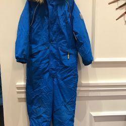 Winter blue jumpsuit Bilet la cer