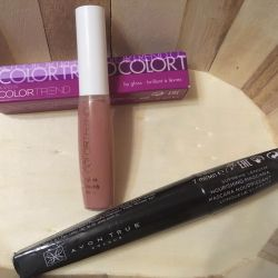 Set (mascara and lip gloss)