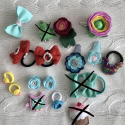 Hairpins and rezinochki