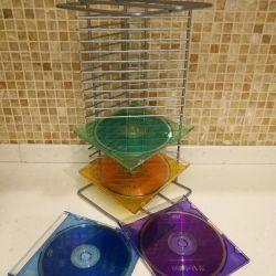 Металлическая подставка для CD дисков.