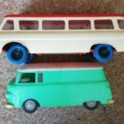 SSCB'nin oyuncak otobüsü