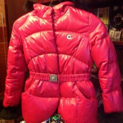 Down jacket winter height 135-140 cm
