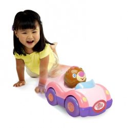 Electronic toy, stimulates the baby to walk