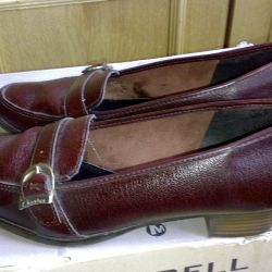 Παπούτσια Shester Αγγλία σ.38 δέρμα