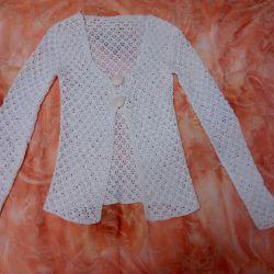 Beyaz bluz boyutu S-M