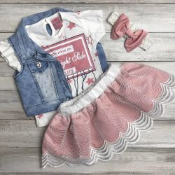 4-piece outfit new