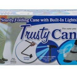 Walking Stick Led Φακός Trusty Cane Δωρεάν αρκετά
