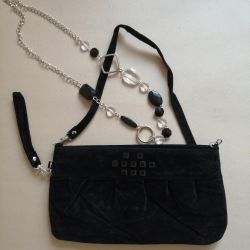 Velor Handbag
