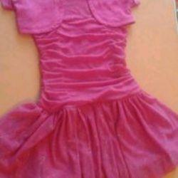 Bolero ile elbise