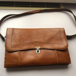 Bag female USSR leather 70th ex a state