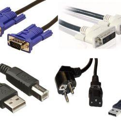 DVI kablosu VGA 220W usb mikro usb USB A-B SATA