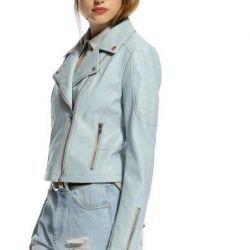 Blue leather jacket?