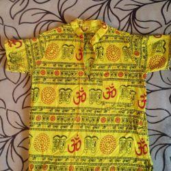 Ινδικό πουκάμισο για ένα αγόρι