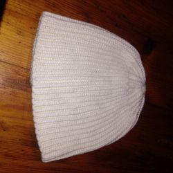 Yeni beyaz şapka