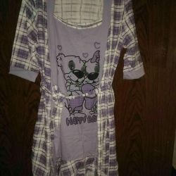 Giyinme kıyafeti + nightgown.r.42