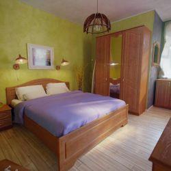 Σετ ύπνου κερασιά Βενετίας / κρεβάτι / τουαλέτα / οροφή
