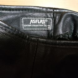 Women's leather pants 44 size