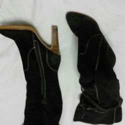 Bargaining Boots suede BASIC. Exchange