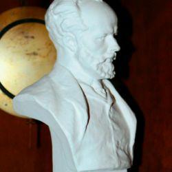 Plaster bust Peter Iliich Ceaikovski Înălțime 21 cm