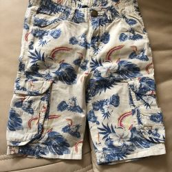 Shorts for a boy height 140 cm