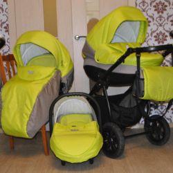 3'ü 1 arada bebek arabası Tutis Lithuania