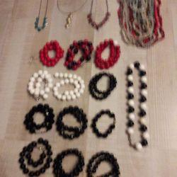 Bracelets, beads